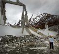 Leyte, Tacloban City, Zerstörung