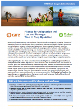 Care-Oxfam-Adaptation-loss-damage-finance